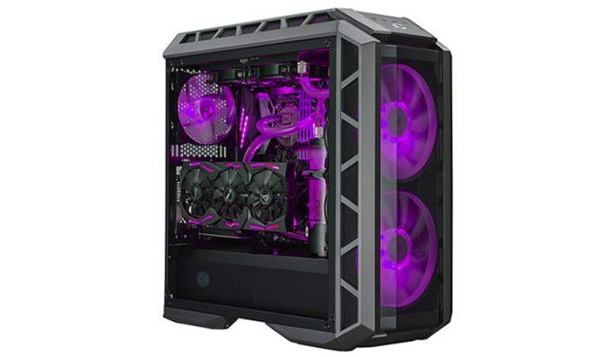 CM MasterCase H500P Purple Rain
