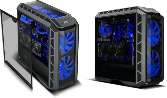 CM MasterCase H500P Tempered Glass Panel