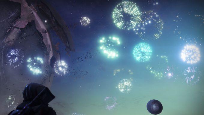 Destiny 2 Fireworks