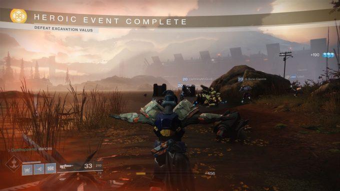 Destiny 2 - Heroic Event Complete