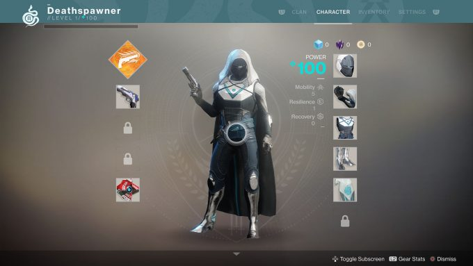 Fresh Hunter In Destiny 2