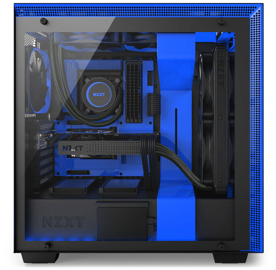 NZXT Launches H-Series Cases & GRID+ V3 Fan Controller ...