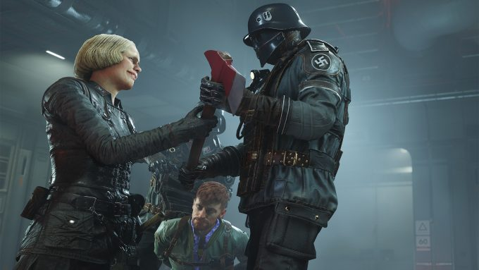 Wolfenstein II - Nazi Axing Some Questions