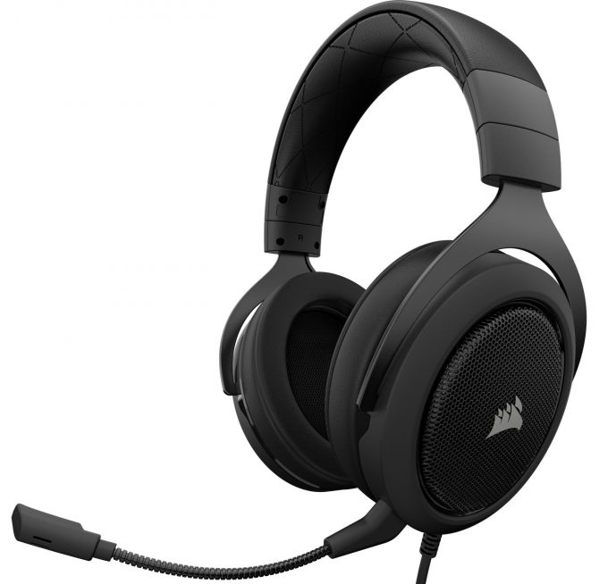 Corsair HS50 Headset Black Feature