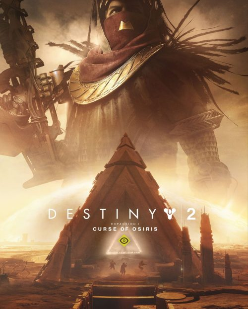 Destiny 2 - Curse of Osiris Cover Art