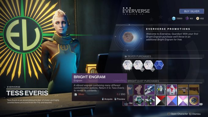 Destiny 2 - Eververse Store