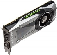 NVIDIA GeForce GTX 1070 Ti - Top Angle