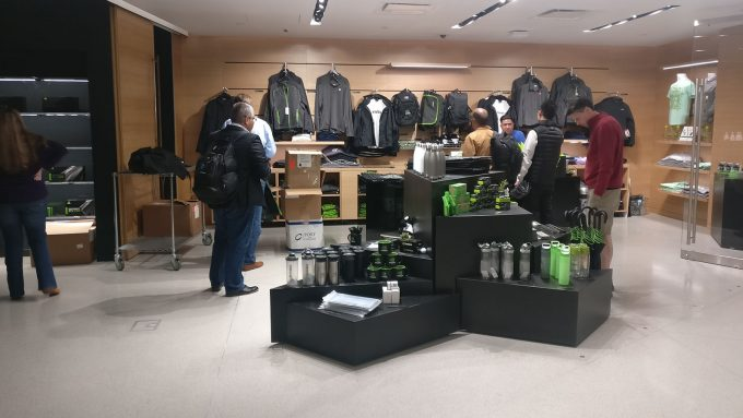 NVIDIA Gift Shop at San Jose HQ