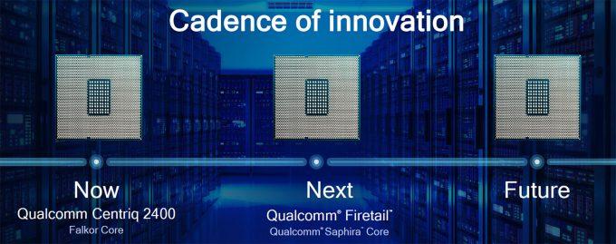 Qualcomm Centriq Release Cadence