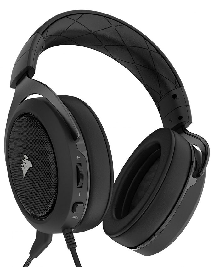 Corsair HS50 Headset Black