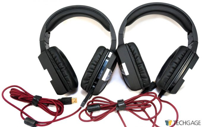 Patriot V361 & V370 - Both Headsets