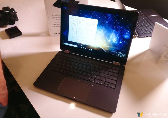Qualcomm Snapdragon 835 Windows 10 ASUS NovaGo
