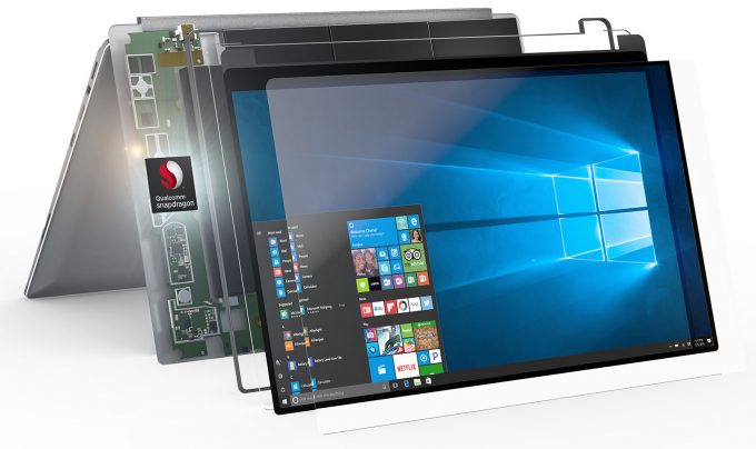 Qualcomm Snapdragon Powering Windows 10 Notebook Feature