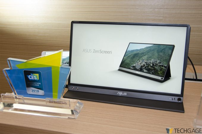ASUS ZenScreen GO MB16AP Portable Monitor