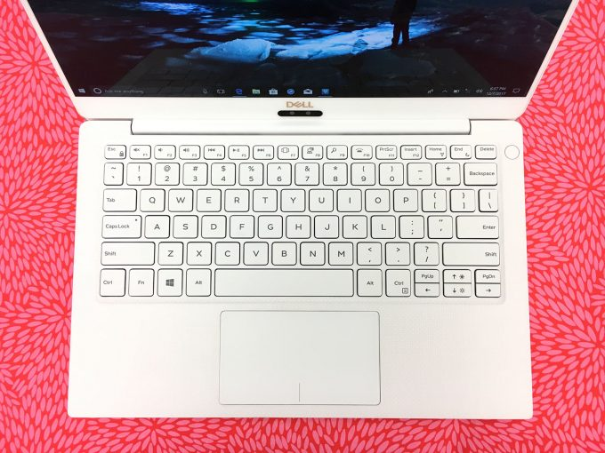 Dell XPS 13 Rose Gold Keyboard & Palm Rest