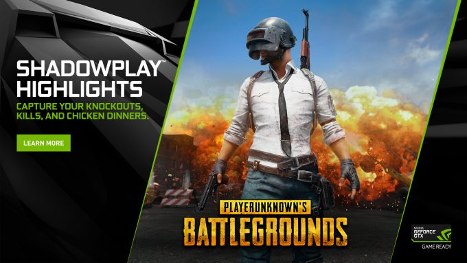 NVIDIA PUBG Highlights Banner