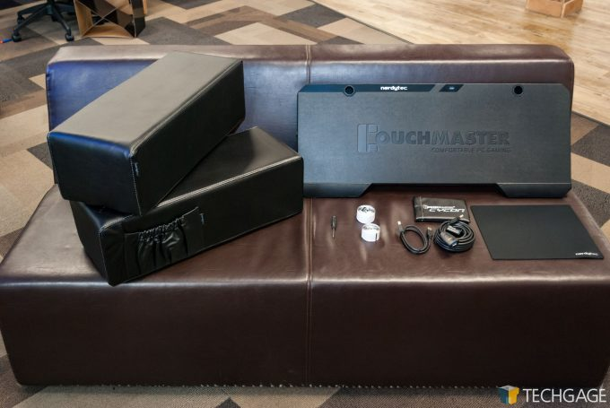 Techgage Review of the nerdytech COUCHMASTER Cycon Main Shot