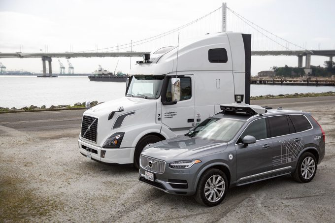 Uber Self-Driving Ride-Hailing Cars and Self-Driving Freight Trucks With NVIDIA DRIVE