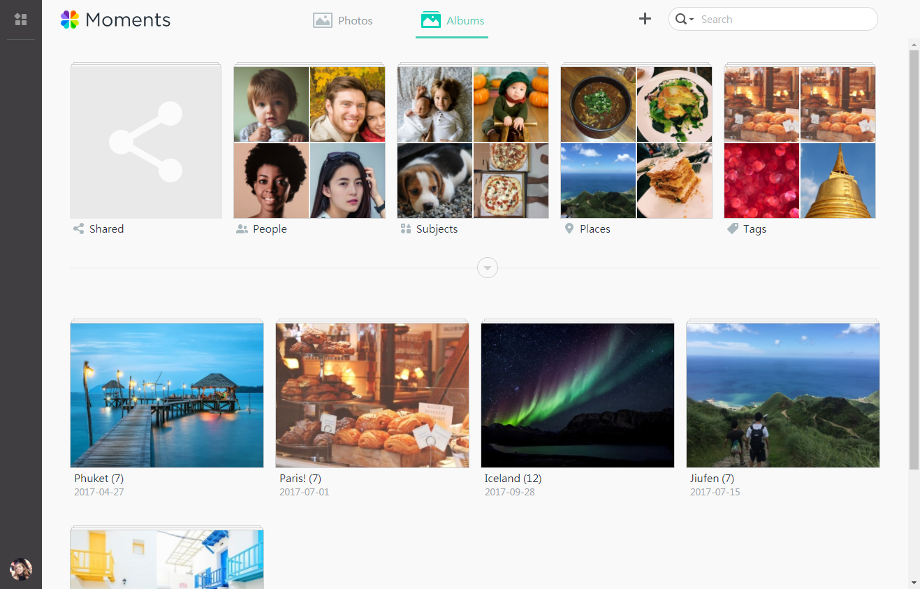 Synology Moments App