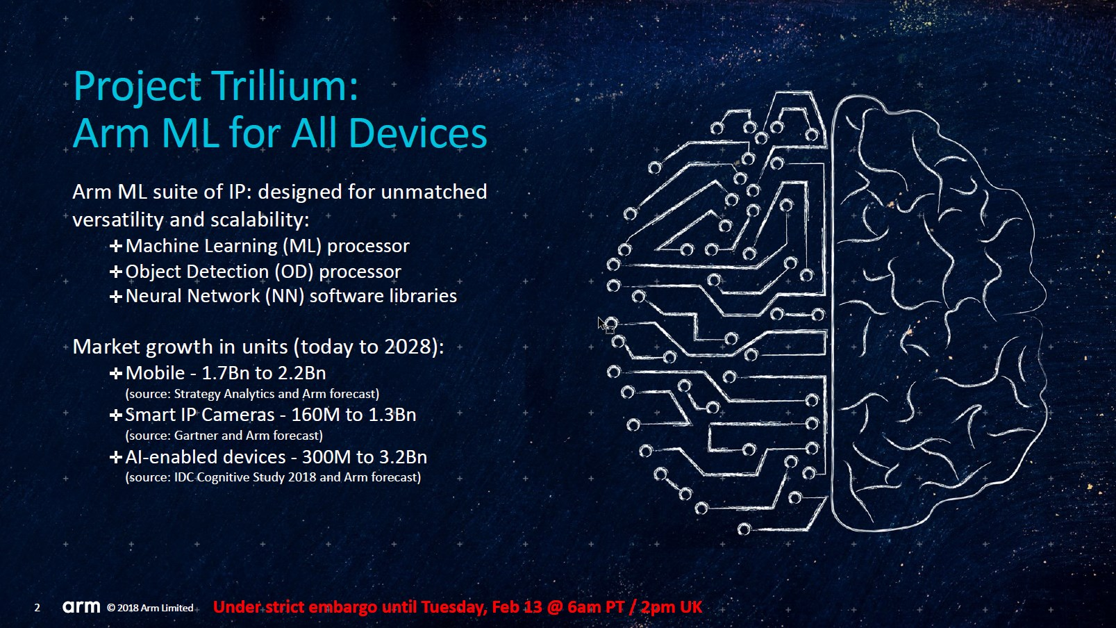 arm project Project trillium is a new class of highly-scalable processors from arm, designed specifically for machine learning and neural networks capabilities.