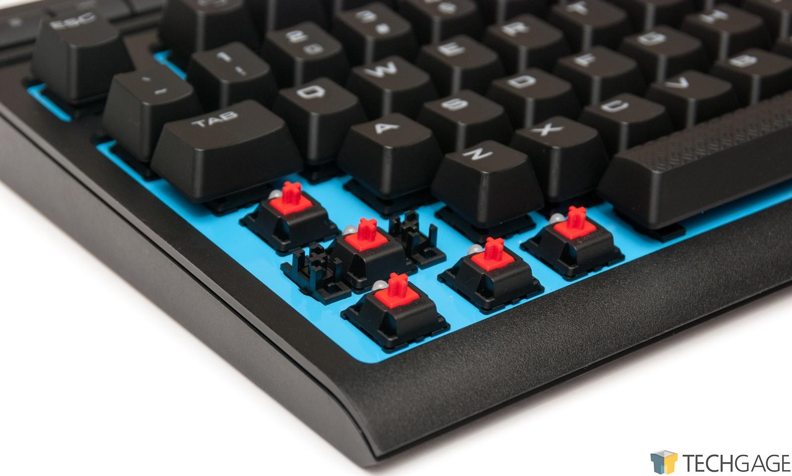 afca4aa6ec1 A Look At Corsair's K63 Wireless Keyboard, Dark Core Wireless Mouse ...