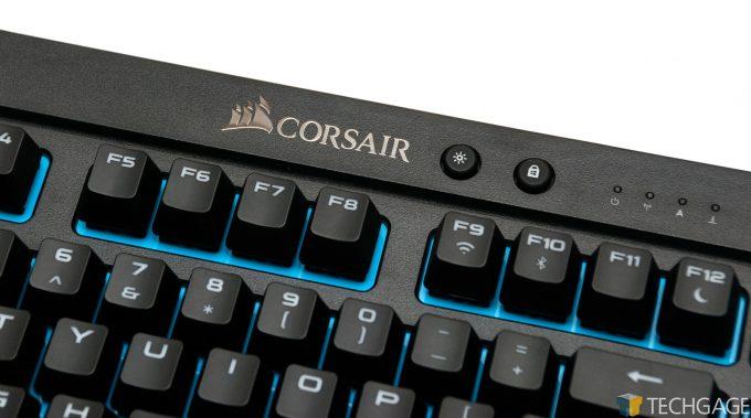 Corsair K63 Wireless Gaming Keyboard - Corsair Logo