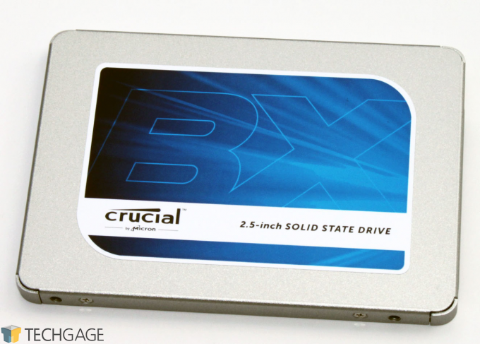 Crucial BX300 SSD Bare Drive