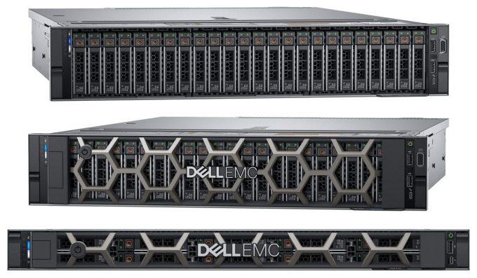 Dell EMC PowerEdge R7425, R7415 & R6415 (Top to Bottom)