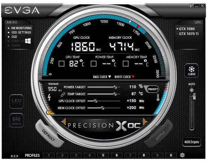 EVGA Precision - Overclocking Multiple GeForce GPUs for Mining