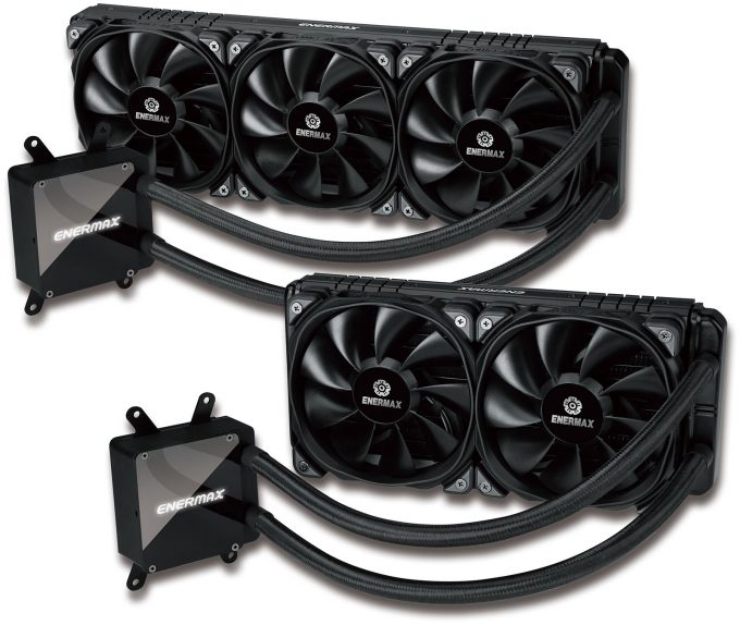 Enermax Liqtech TR4 280 and 360 Coolers