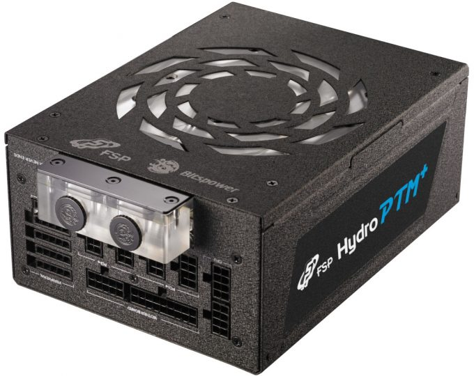 FSP Hydro PTM+ Liquid Cooled Power Supply - Close-up