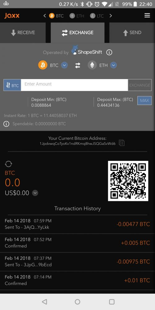 Jaxx for Android