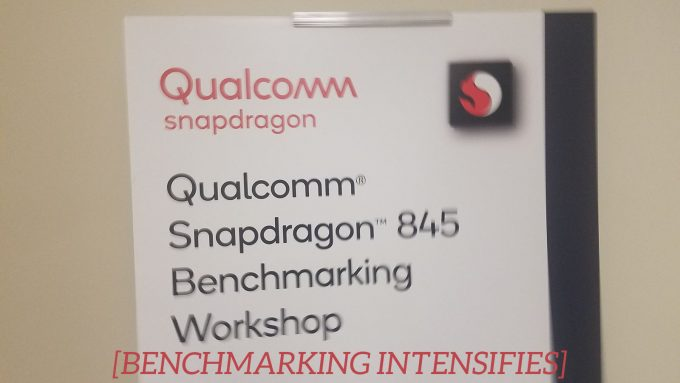 Qualcomm Snapdragon 845 Benchmark Workshop