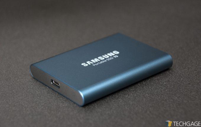 Samsung T5 Portable 500GB USB-C SSD