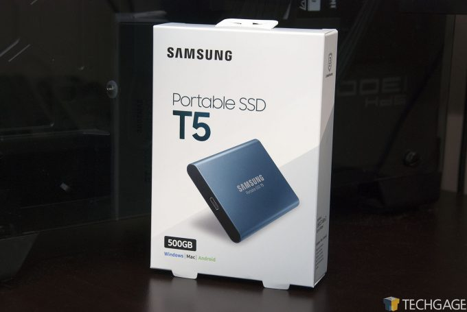 A Look At Samsung's Ultra Small, Ultra Fast & Ultra Portable SSD T5