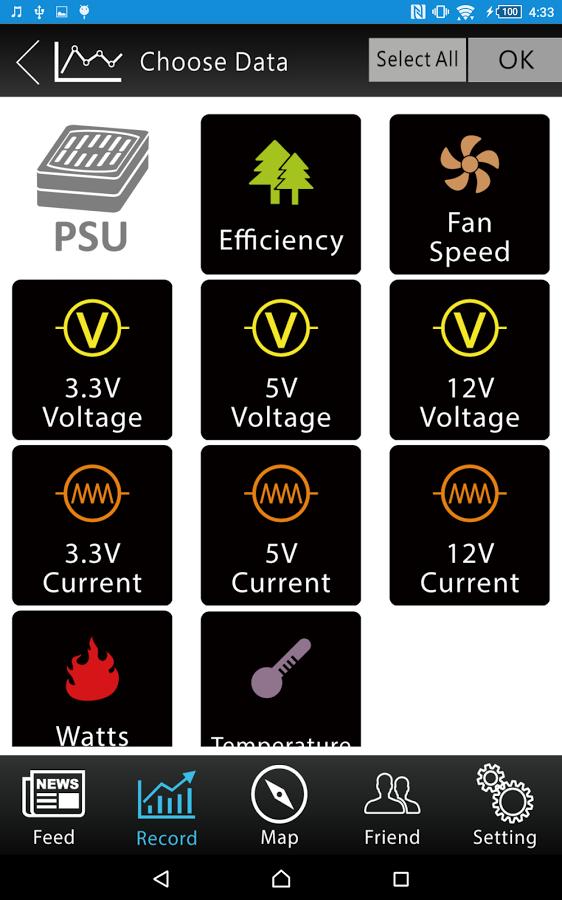 Thermaltake DPS G Mobile App - Power Monitoring