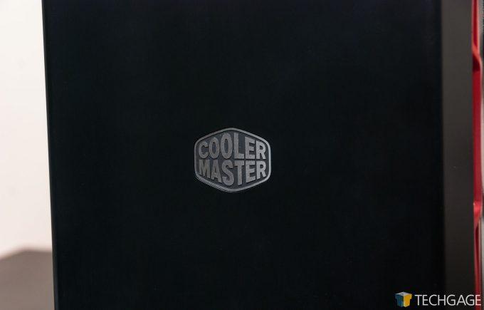 Cooler Master MasterBox MB600L - Cooler Master Logo