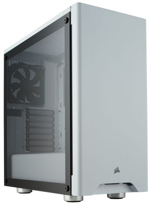 Corsair Carbide 275R Mid-tower Chassis (White) - Angle