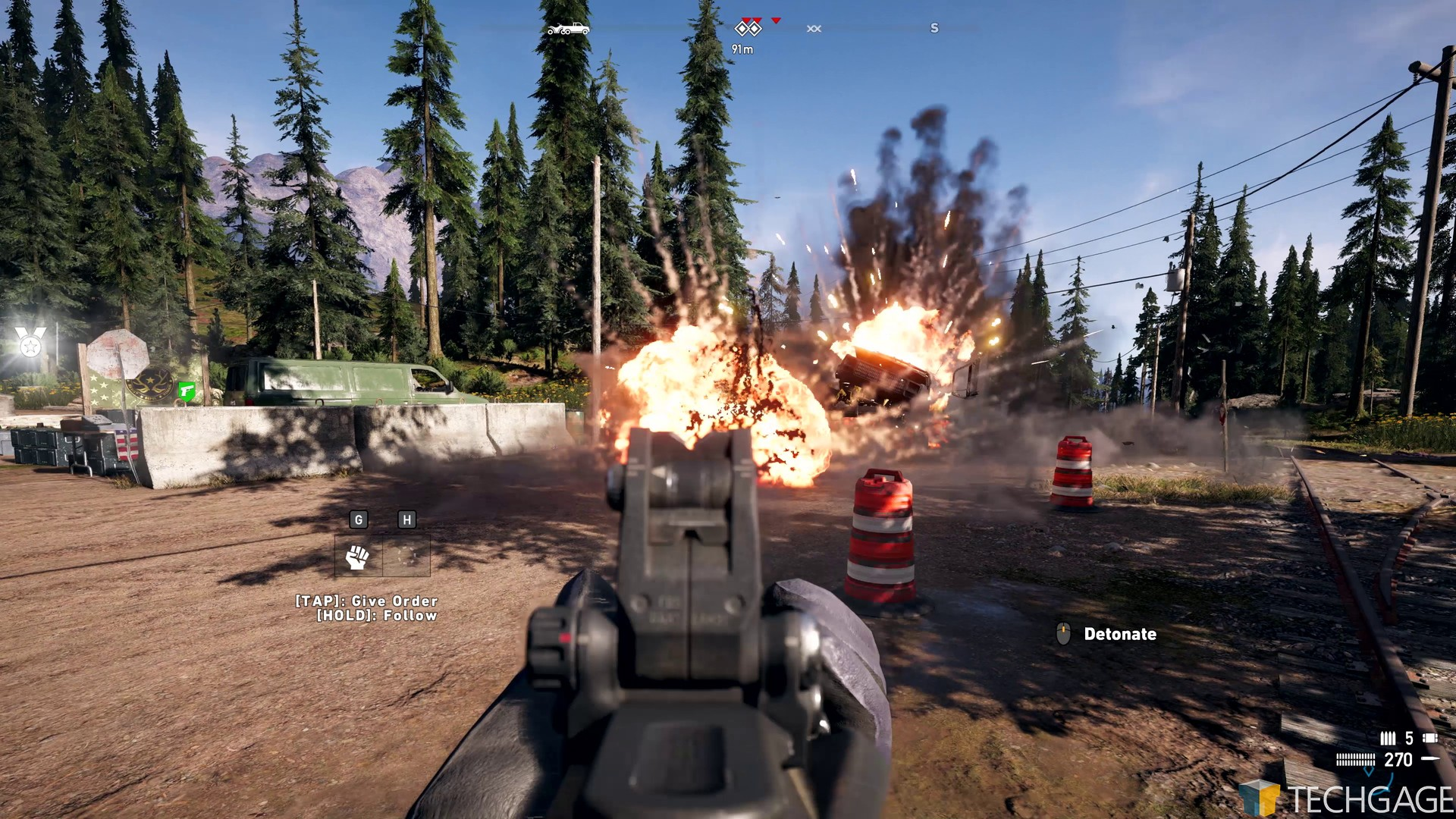 Far Cry 5: Solo & Co-op Campaign Hands-on – Techgage