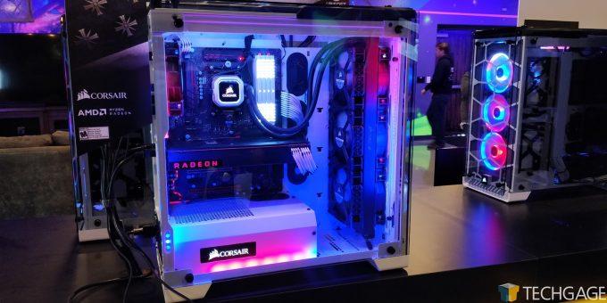Far Cry 5 Test PCs At Corsair HQ