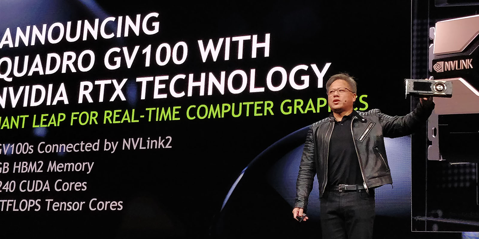 NVIDIA Unveils New Flagship Quadro: GV100 With 32GB Of HBM2
