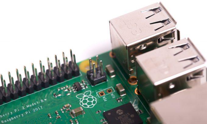 Raspberry Pi 3 B+ PoE 4-Pin Header