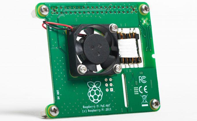 Raspberry Pi 3 B+ PoE HAT