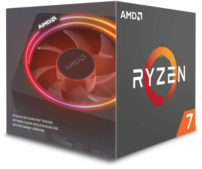 AMD Second-gen Ryzen 7 Box