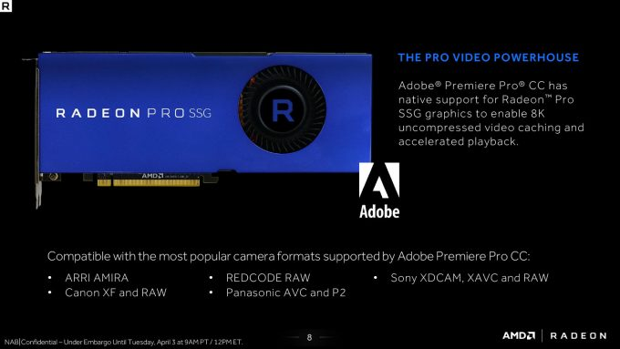 Adobe Switches On Native Support For AMD's Radeon Pro SSG In