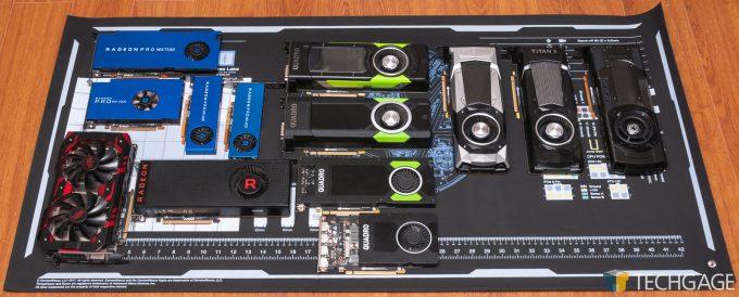 GamersNexus Modmat - Loaded Up With GPUs Watermarked