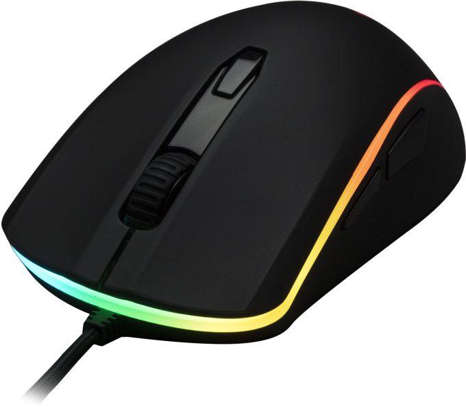 HyperX Pulsefire Surge Gaming Mouse Closeup