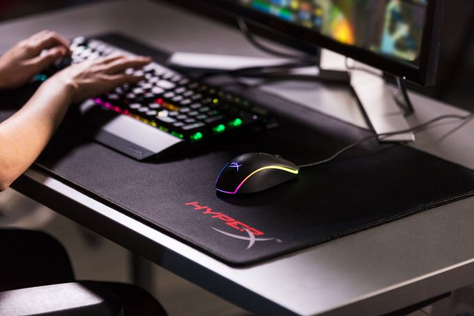 HyperX Pulsefire Surge Gaming Mouse in Action