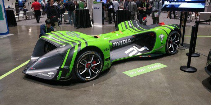 NVIDIA Autonomous Race Car