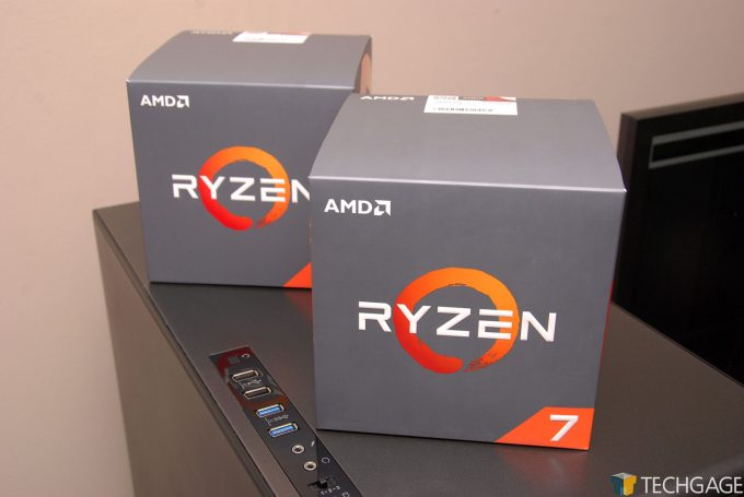Ryzen 7 2700X and Ryzen 5 2600X